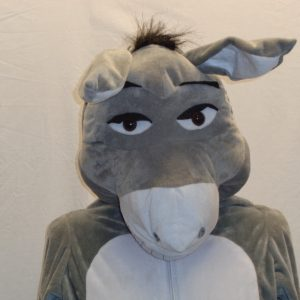 kids Shrek donkey costume fur