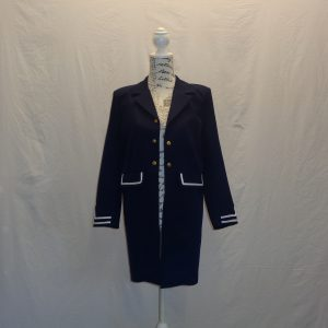 kids navy blue tailcoat