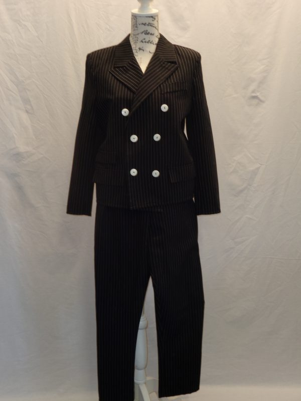 kids 1920's style gangster pinstripe suit