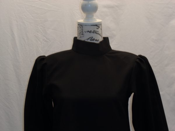 Kids long black tunic/dress