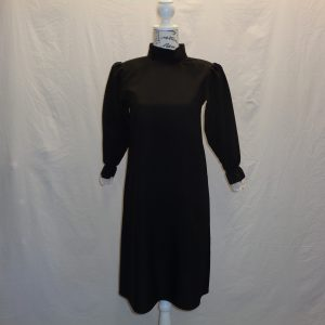 kids long black tunic/dress