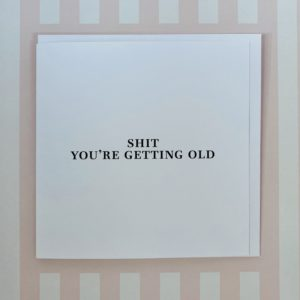 Getting Old card