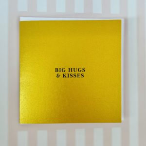 Greeting Cards Hugs & Kisses