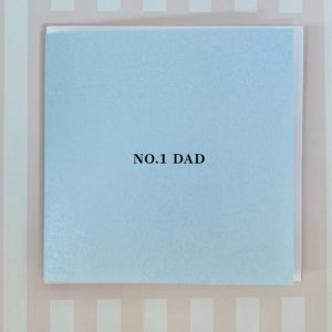 Fathers Day No 1 Dad Card