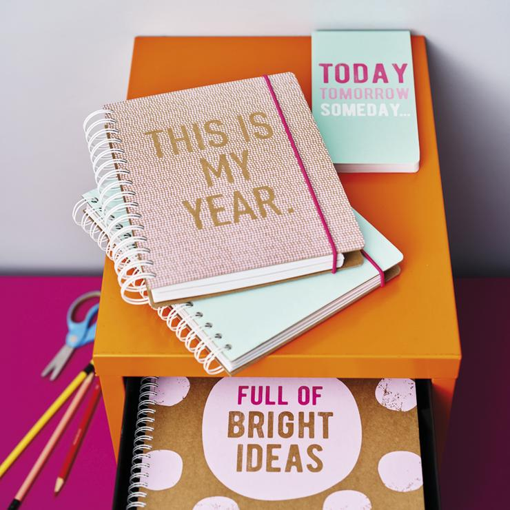A5 undated planner this is my year