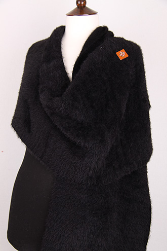 large black zelly scarf wrap