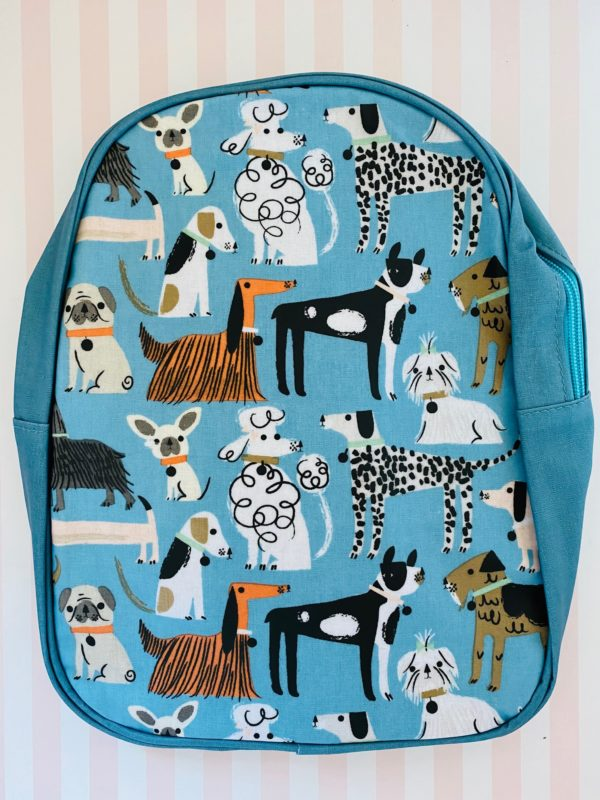 Dogs backpack Gisela Graham kids gifts
