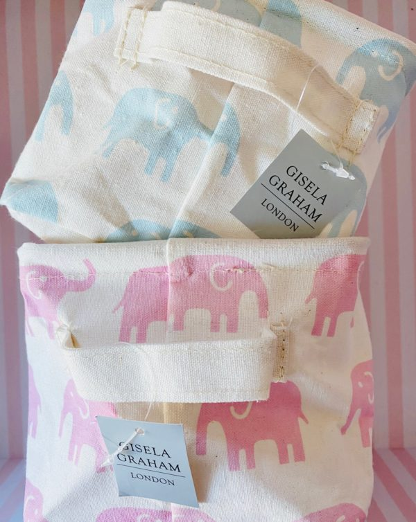 Elephant small collapsible storage box gifts kids
