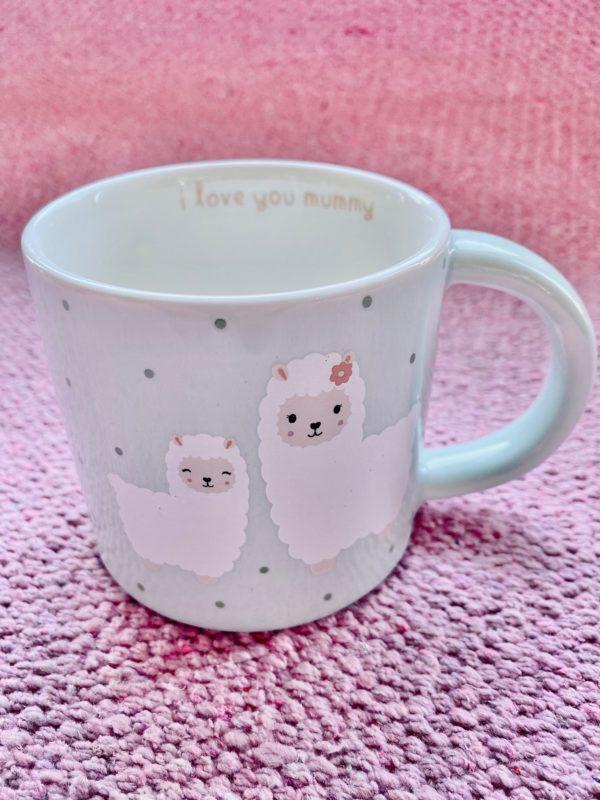 Little Llama I Love You Mummy Mug