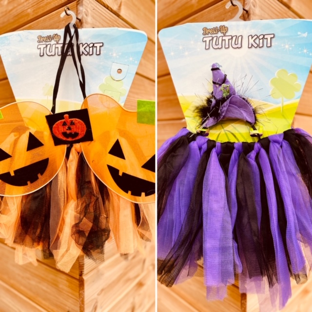Toddler Tutu Halloween dress up kit