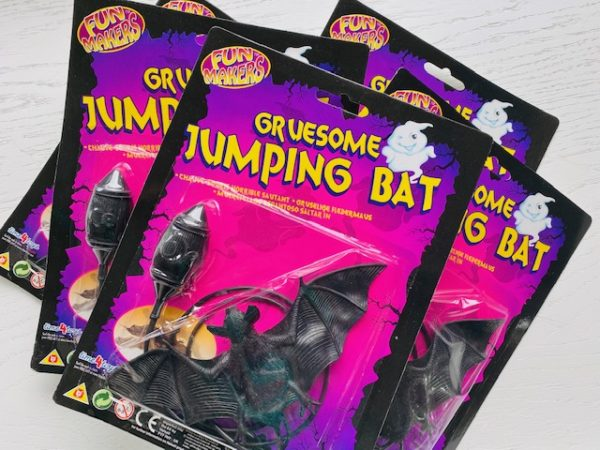 Gruesome Jumping Bat Toy