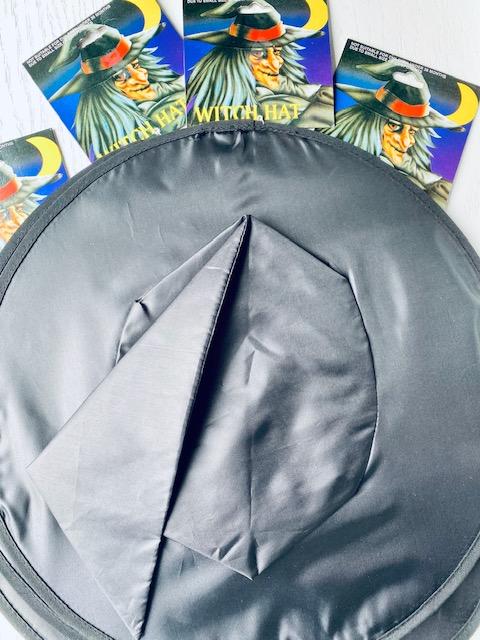 Basic Witches Hat Black Nylon