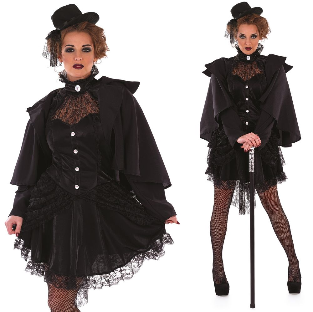 Victorian Widow/Vampiress Costume