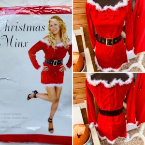 Christmas Minx Dress